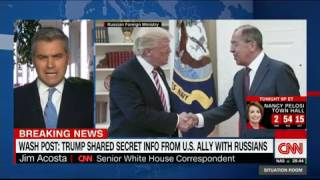 President Trump Revealed Classified Information to Russia