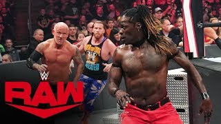 R-Truth vs. Buddy Murphy: Raw, Oct. 28, 2019
