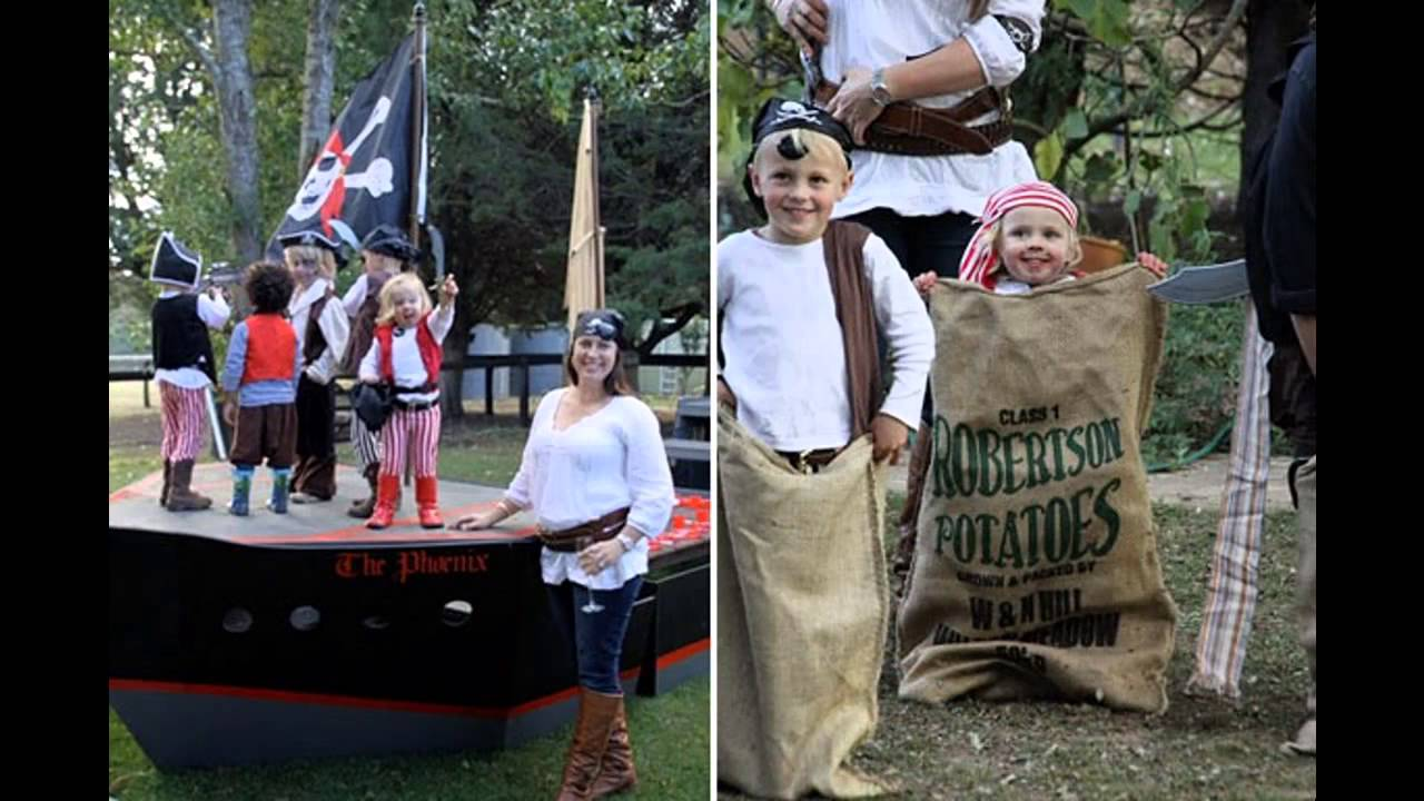 Pirate Themed Decorating Ideas Part - 36: Wonderful Pirate Themed Party Decoration Ideas - YouTube
