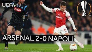 ARSENAL 2-0 NAPOLI #UEL HIGHLIGHTS