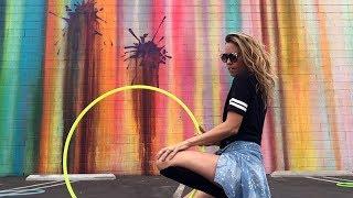 Cardi B - I Like It   Hula Hoop Girls