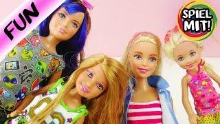 BARBIE und IHRE SCHWESTERN | Skipper, Shelly und Stacie | Spiel mit mir Kinderspielzeug