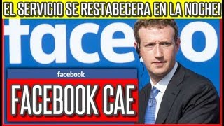 Se Cae Facebook a Nivel Mundial #FacebookDown #InstagramDown #WhatsappDown