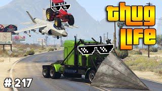 GTA 5 : THUG LIFE \u0026 FUNNY MOMENTS (Epic Wins, Funny Fails and Stunts #217)
