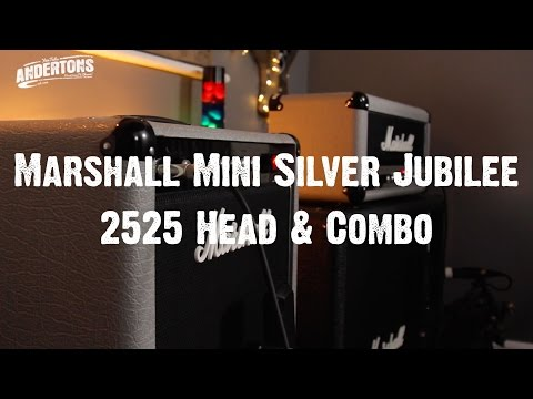 Rabea & Pete - Marshall Mini Silver Jubilee 2525 Head & Combo