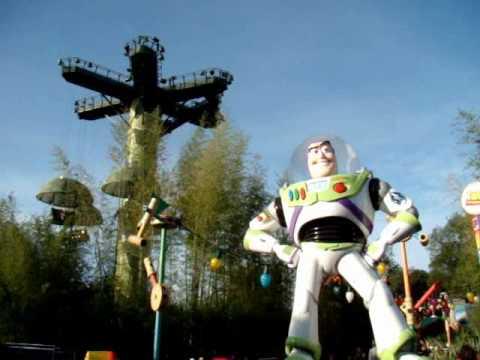 Toy Soldiers Parachute Drop Disneyland Paris Walt Disney Studio Toy Story Playland