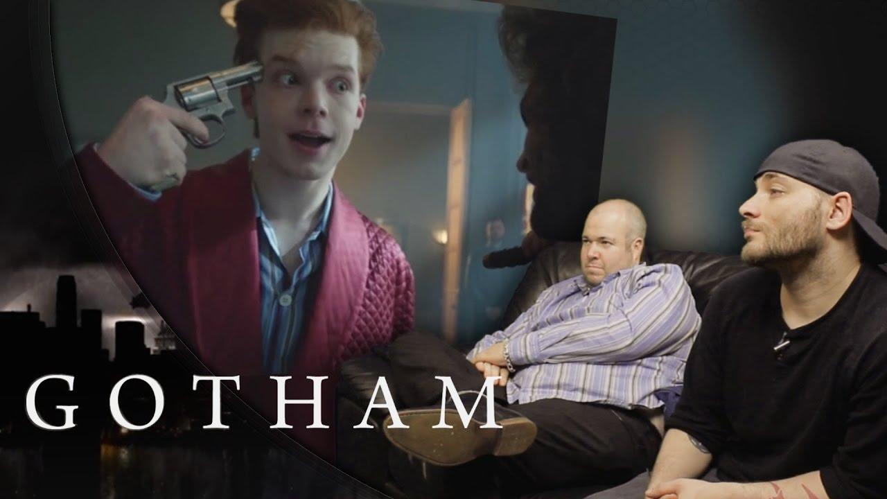 gotham s02e02 reaction knock knock youtube