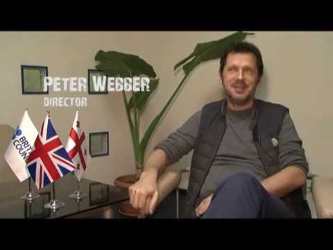 Peter Webber in the British Council Tbilisi Office