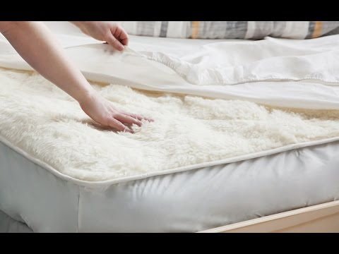 Wool bedding that goes from Baaa to Zzzzz.