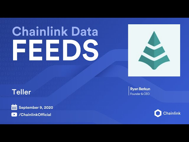 Teller Finance Live Q&A: Bringing Real-World Credit to DeFi with Decentralized Oracles