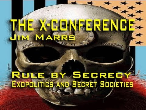 Exopolitics and Secret Societies - Jim Marrs LIVE
