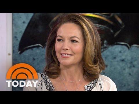 Diane Lane Talks 'Batman V Superman,' Takes On Internet Rumors | TODAY