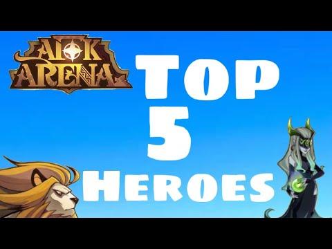 ULTIMATE HERO GUIDE | 5 BEST HEROES | AFK ARENA