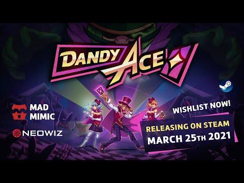 Dandy Ace Launch Announce Trailer