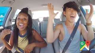 best friends take a road trip for the first time presented by buzzfeed google maps