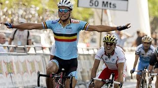 World Road Cycling Championships 2005 - Tom Boonen takes the rainbow jersey