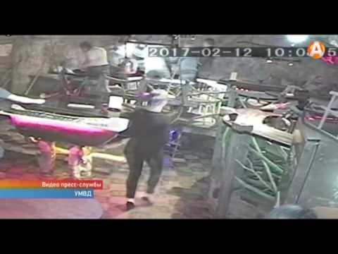 Девушка в кафе до стрельбы довела
