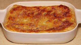 Попробовав кусочек вы обязательно возьмете добавку. Картофельный пирог с грибами.