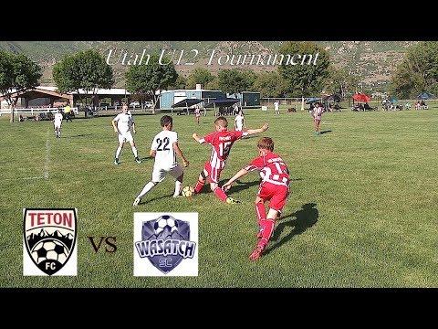 Teton FC Maroon vs Wasatch JS - U12 Tournament Soccer