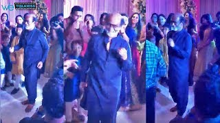 Rajinikanth dancing video with his grandson at Soundarya wedding | Vishagan