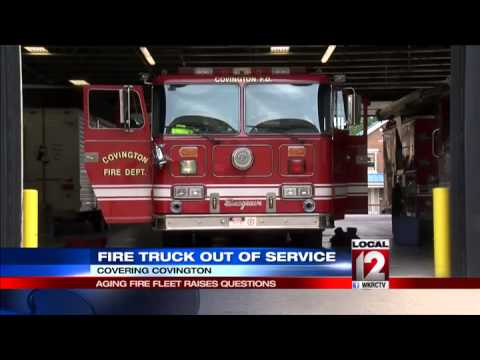 Covington Fire Department worried about aging trucks