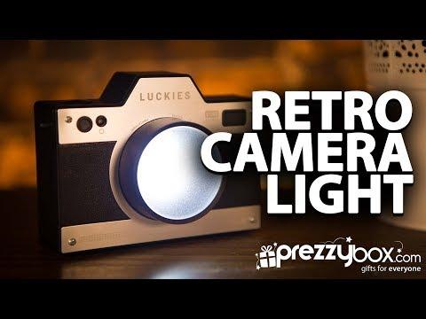 Retro Camera Night Light - Picture this, your room illuminated!