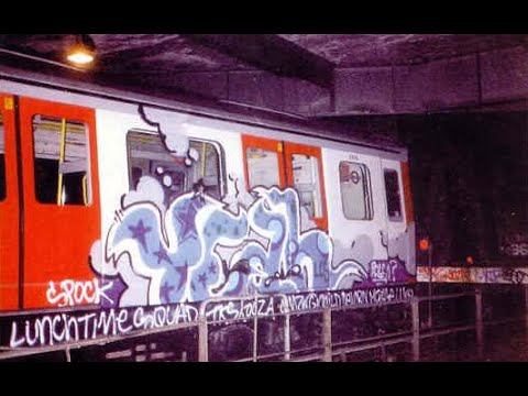 Steel Injection London Underground 90s Graffiti