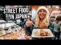 We Tried Japanese Street Food in Osaka, Japan
