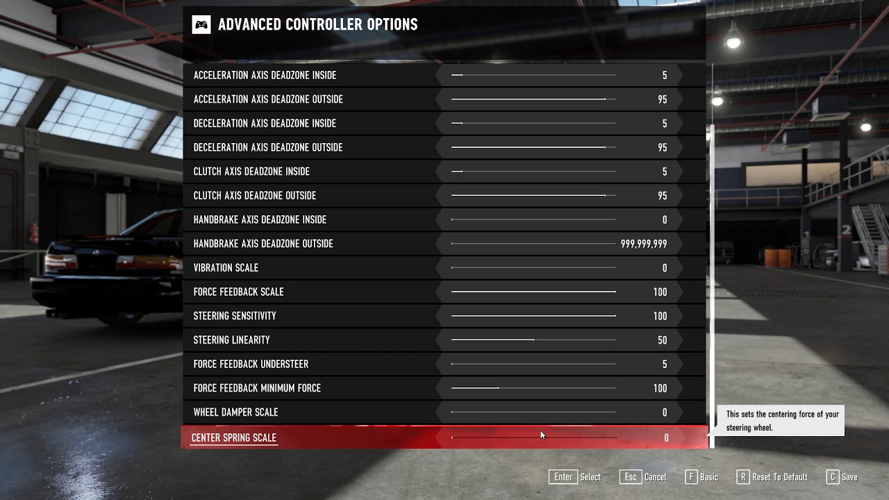 Forza 7 Wheel Settings Guide