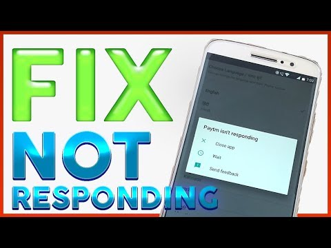 Fix 'Not Responding'