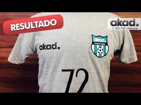 8f40735d0d AKAD - Como fazer uma camiseta time de futebol impressão e recorte plotter  - akad.com.br