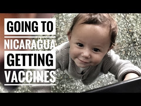 GOING TO NICARAGUA - VACCINES