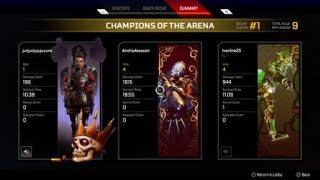 Apex Legends PS4 Caustic Solo Win vs 3 Squads