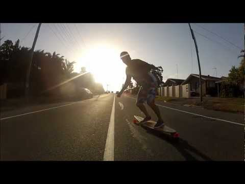 Longboard the Gold Coast