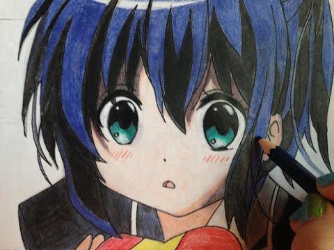 How To  Draw Rikka Takanashi From Chuunibyou Demo Koi Ga Shitai  Step Bystep Tutorial