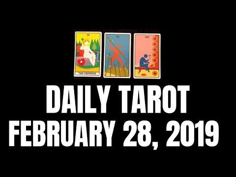 Daily Tarot Reading February 28, 2019 | Magnetic Tarot
