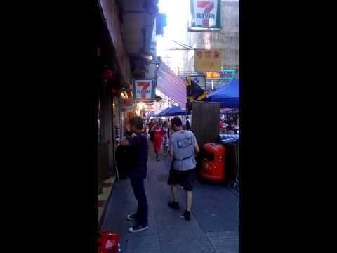 Karaoke bar, Temple Street