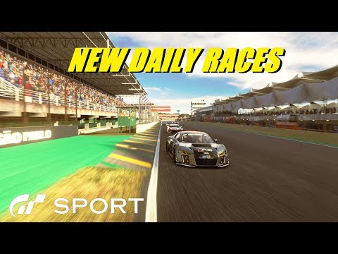 GT Sport New Daily Races