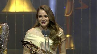 Miray Daner, Yıldızı Parlayan Genç Oyuncu Ödülünü Aldı!