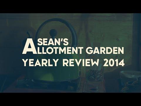 Sean's Allotment Garden 2014