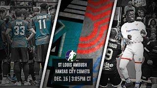 St Louis Ambush vs Kansas City Comets