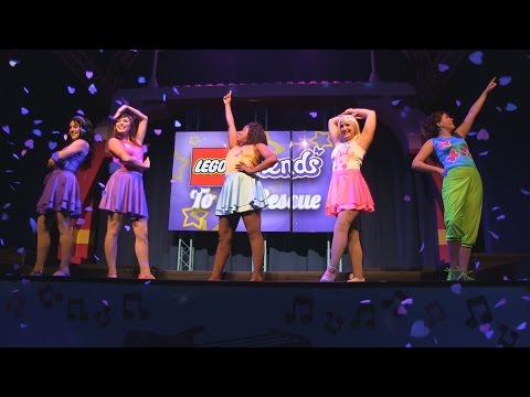 Updated Lego Friends to the Rescue show at Legoland Florida