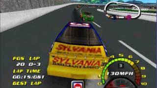 Nascar 2000 Crashing [N64]