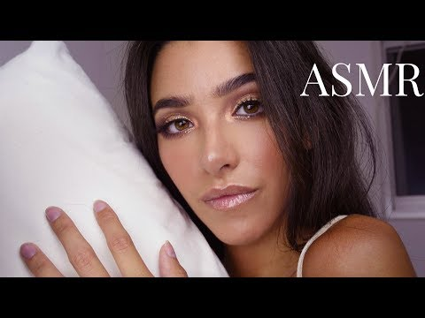 ASMR Giving You a Soft Sleep Treatment (Scalp and brain massage, hair brushing, lotion, countdown..)