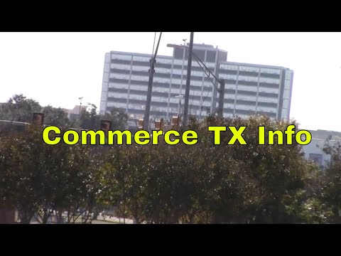 Commerce TX Information Rural Small Town Texas A&M University USA Jamesss Today