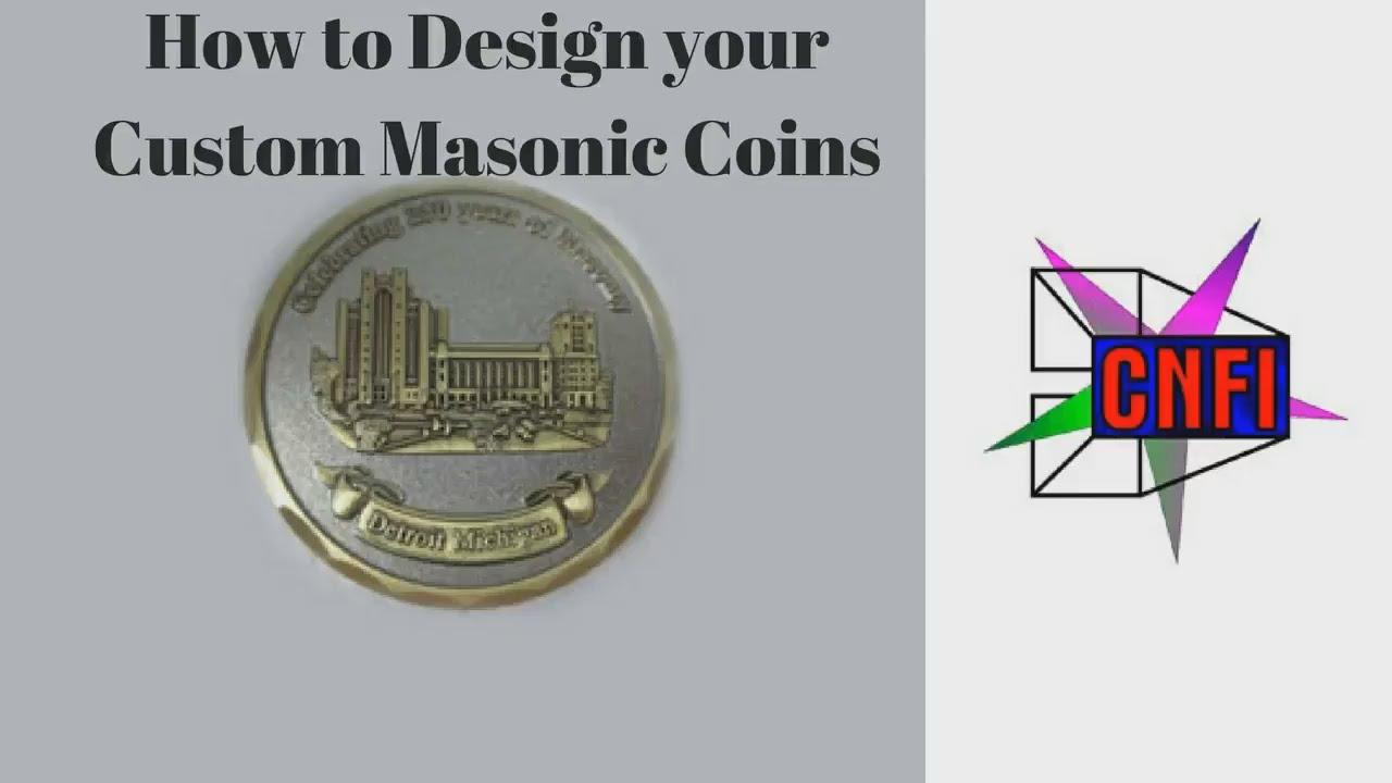 How to Design Custom Masonic Coins