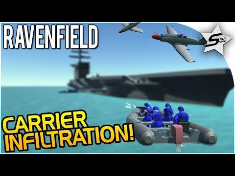 """SECRET AIRCRAFT CARRIER INFILTRATION MISSION"" - NEW Ravenfield Map UPDATE - Ravenfield Beta 6/Steam"