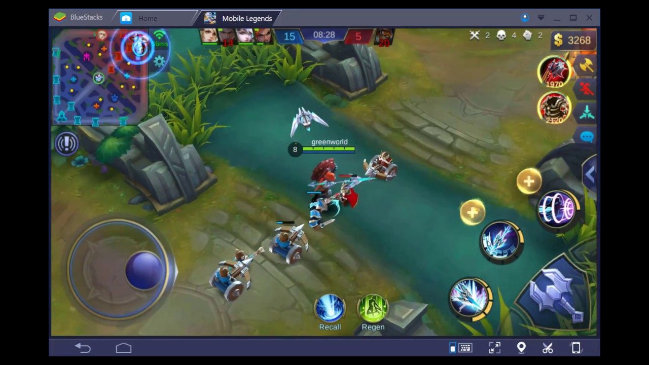 how to play mobile legends bang bang on pc - youtube