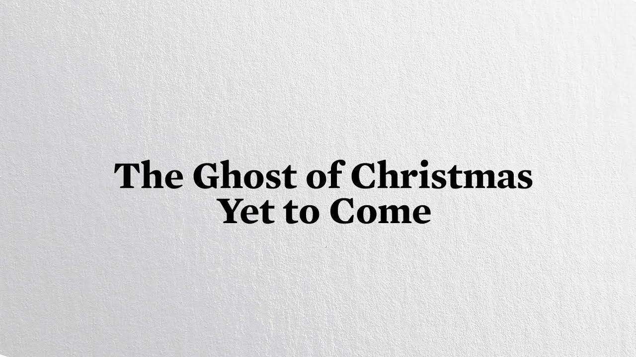 White Christmas - The Ghost of Christmas Yet to Come | Tobias ...