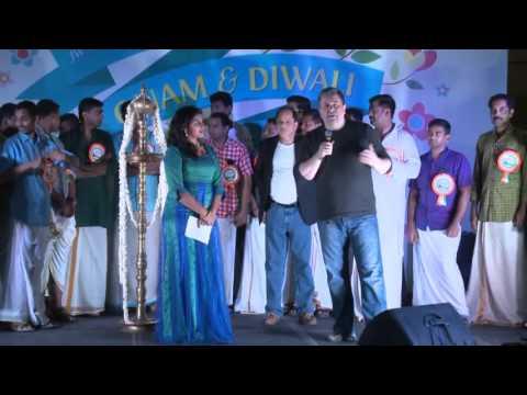 jw marriott marquis dubai onam&diwali celebration 2015  part 2